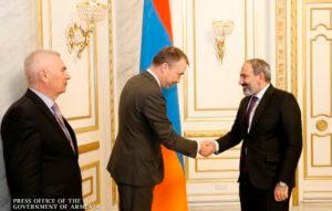 Премьер-министр Армении и спецпредставитель ЕС обсудили процесс урегилирования карабахского конфликта