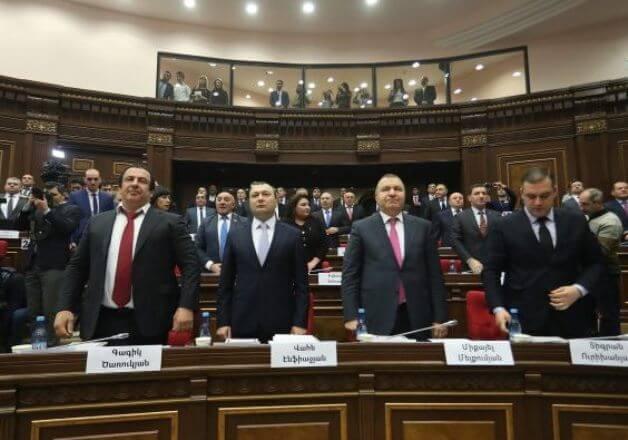 Парламент Армении принял пятилетнюю программу правительства
