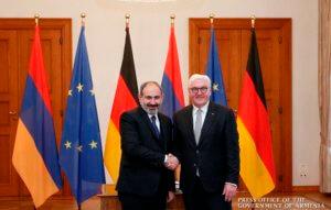 Президент Германии принял премьер-министра Армении Никола Пашиняна