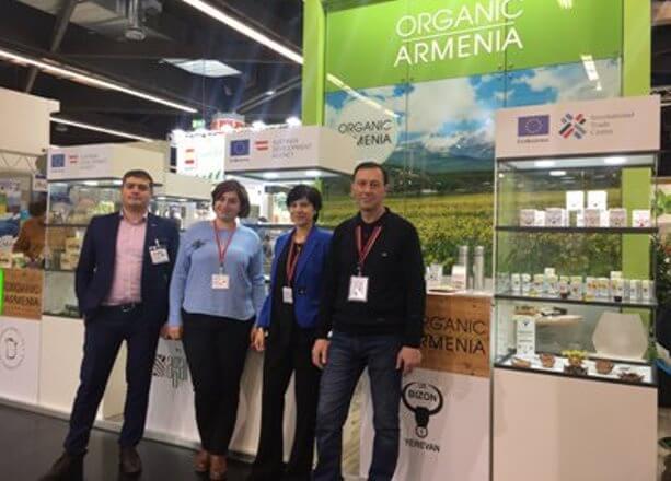 Армения заключила контракты на полмиллиона евро с производителями органической продукции