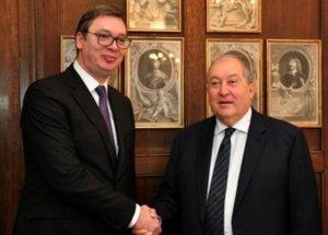 Президент Сербии вновь подтвердил намерение об открытии посольства в Армении