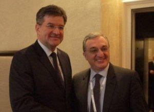 Глава МИД Армении представил председателю ОБСЕ позицию по карабахскому урегулированию