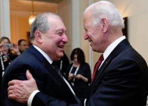 Президент Армении встретился с бывшим вице-президентом США Джо Байденом