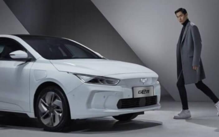 Geely показала салон конкурента Tesla Model 3