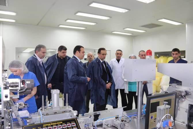 В Армении откроют завод по производству качественных медицинских аксессуаров