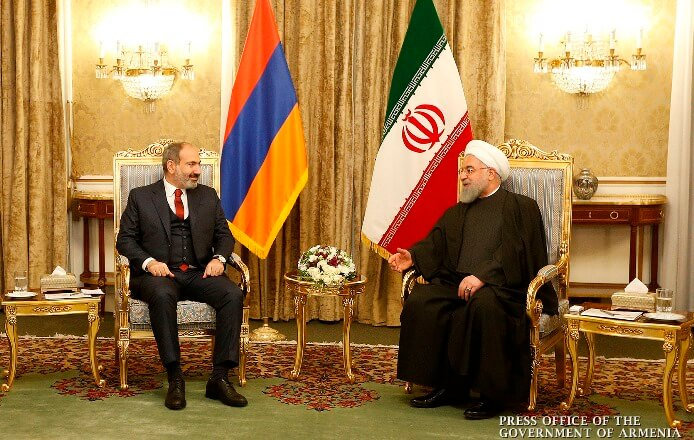 Никол Пашинян: Армения готова стать транзитной страной для иранского газа