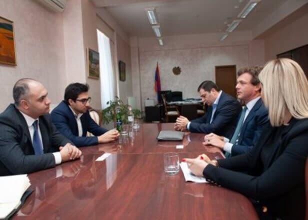 Итальянцы заинтересованы сферой сельскохозстрахования в Армении