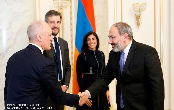 Премьер-министр Армении и представители фонда «Index Ventures» обсудили сотрудничество