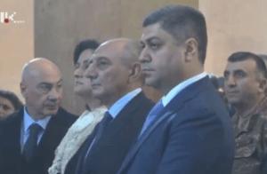 В Степанакерте проходит официальная церемония освящения и открытия Кафедрального собора