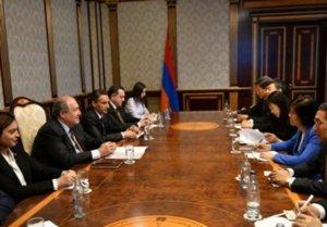Президент Саркисян: «Пришло время, чтобы Армения стала частью нового Шелкового пути»