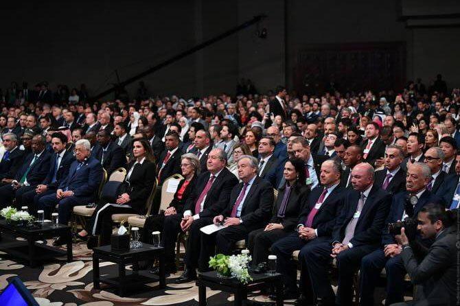 Президент Саркисян принял участие в церемонии открытия регионального форума Всемирного экономического форума в Иордании
