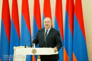 Президент Армении прибыл в Португалию с трехдневным визитом