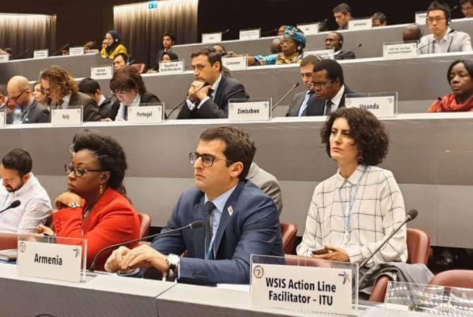 Акоп Аршакян принимает участие во Всемирном форуме информационного сообщества в Женеве