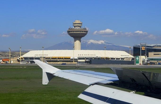 Рост пассажиропотока через два аэропорта Армении в марте составил 7%