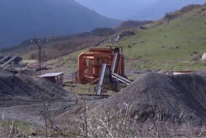 Полученные из рудника Магавуза нефтепродукты представлены руководству Арцаха