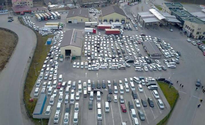 Импорт автомобилей в Армению за месяц увеличился на 119%