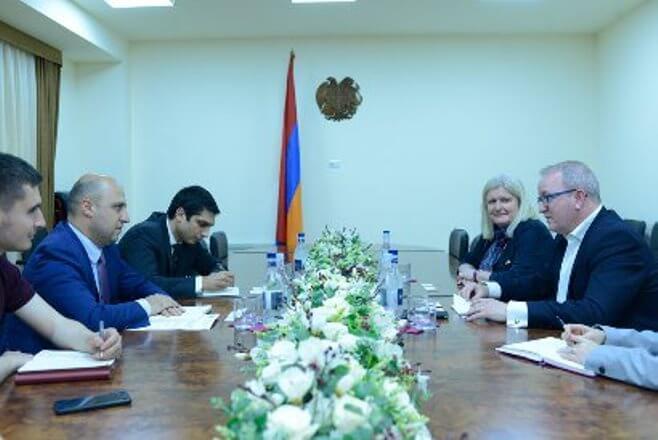 Марк Притчард: Великобритания заинтересована в сотрудничестве с Арменией