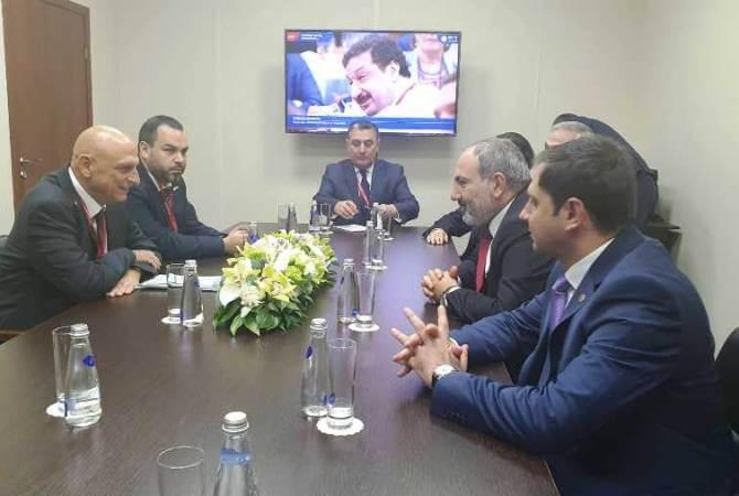 Началась встреча Никола Пашиняна и директора инновационного центра Министерства экономики Израиля