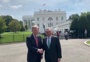 Глава МИД Армении встретился с советником президента США
