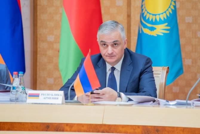Под председательством Мгера Григоряна в Минске состоялось заседание Совета ЕЭК