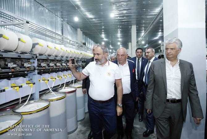 Премьер-министр присутствовал на церемонии открытия хлопкопрядильного завода в Маралике