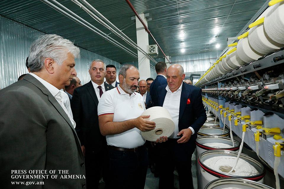 Завод по производству хлопковой пряжи в Маралике будет ежемесячно производить 300 тонн ниток