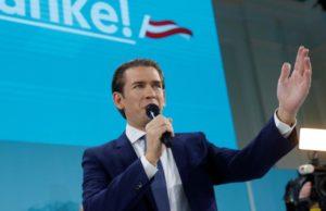 Себастьян Курц заявил о победе своей партии на парламентских выборах в Австрии