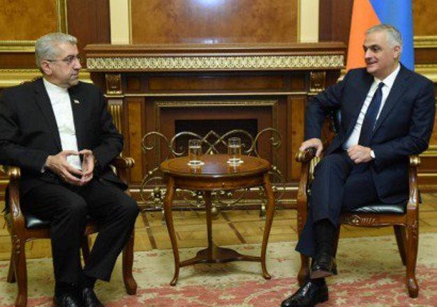 Вице-премьер Армении и министр энергетики Ирана обсудили вопросы сотрудничества