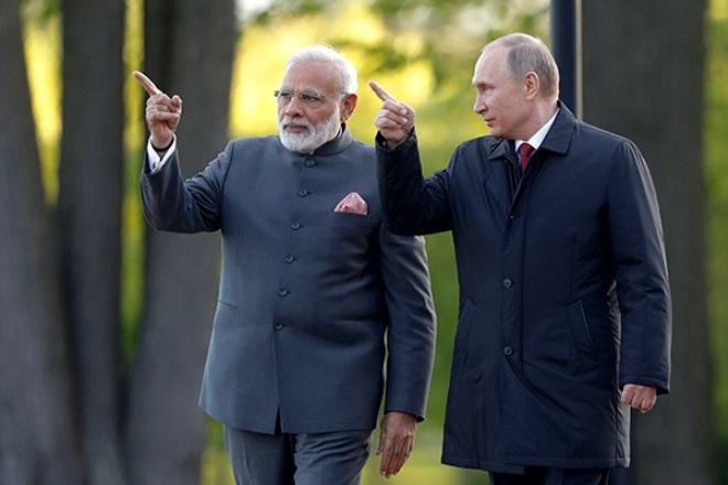Путин берет миллиардный кредит у Индии