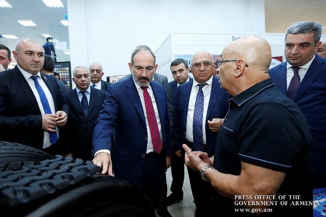 Премьер-министр Армении принял участие в церемонии открытия выставки «ARMENIA EXPO 2019»