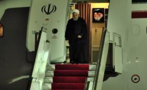 Президент Ирана Хасан Рухани прибыл в Ереван