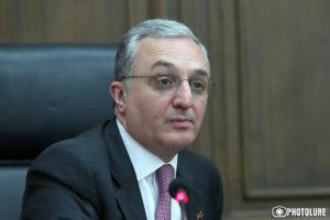 Глава МИД Армении посетит Литву с официальным визитом
