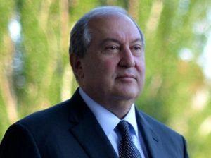 Президент Армении направил телеграмму соболезнования в связи с кончиной матери Католикоса Арама Первого