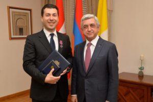 """Зять Саргсяна угрожает экс-главе СНБ Армении: """"ты очень скоро будешь вынужден дать объяснения"""""""