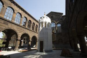 Резиденция Католикоса открылась в Эчмиадзине после капитальной реставрации