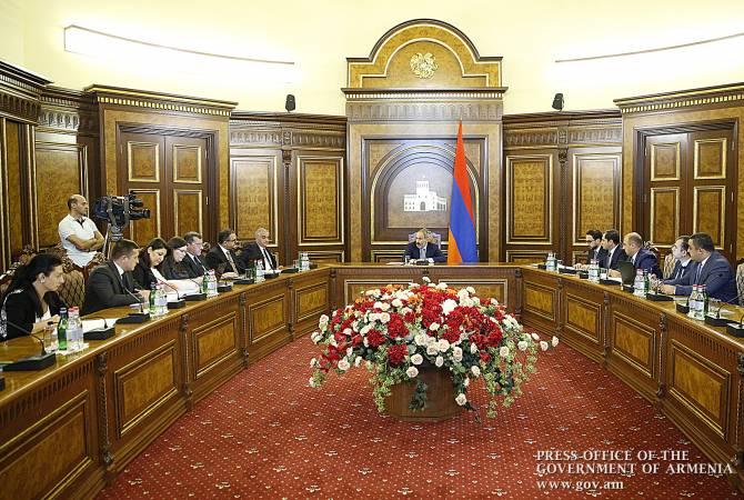 Премьер-министр Армении обсудил текущую ситуацию в сфере строительства дорог и планы на будущее