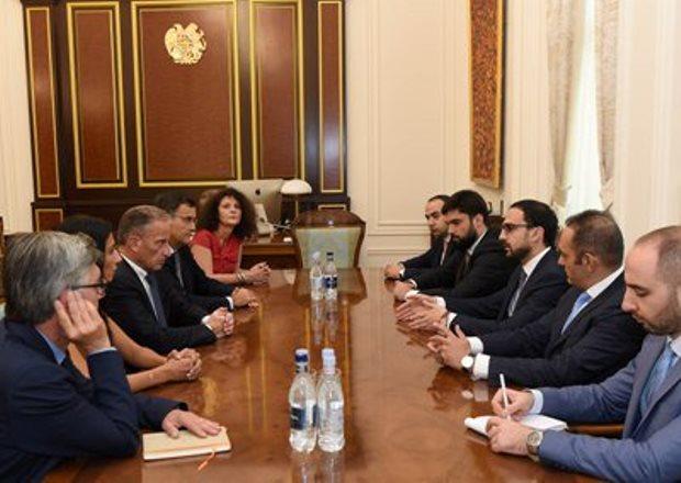 Тигран Авинян обсудил с делегацией компании «Урбасер» вопрос улучшения инвестиционной среды