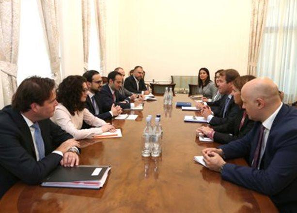 Тигран Авинян: Сотрудничество с ЕБРР включает инвестиционный пакет на сумму более 1,3 млрд. евро