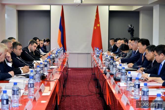 Состоялось 10-е заседание Армяно-китайской совместной комиссии по торгово- экономическим вопросам