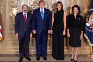 Премьер-министр Армении опубликовал фото с Трампом