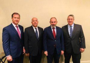 Никол Пашинян встретился с руководством Армянской Ассамблеи Америки
