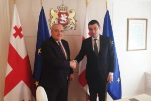 Посол Армении встретился с премьер-министром Грузии