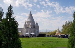 В Армении открылся самый большой езидский храм в мире