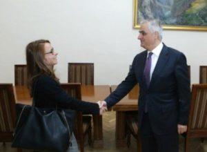 Вице-премьер принял представителей международной рейтинговой организации «Фитч»