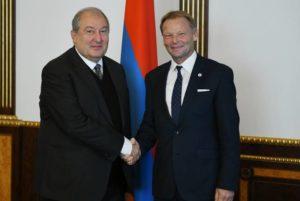 Президент Саркисян встретился с вице-президентом Европейского инвестиционного банка