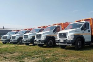Мэрия Еревана приобрела еще 5 мусороуборочных машин