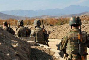 На армяно-азербайджанской границе в результате выстрела противника погиб военнослужащий