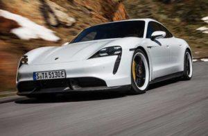 Компания Porsche презентовала свой первый электромобиль Porsche Taycan