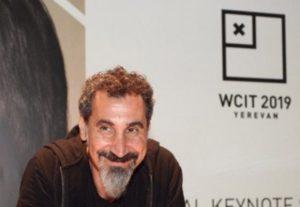 WCIT 2019: Серж Танкян прибыл в Ереван