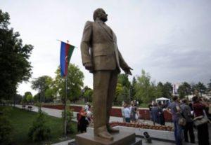 Жители Белграда думают, что памятник Гейдару Алиеву подарен местной ЛГБТ общине